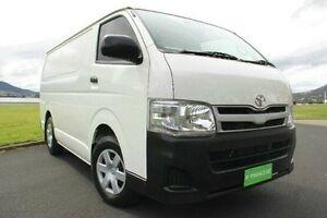 2013 Toyota Hiace TRH201R MY12 LWB White 5 Speed Manual Van Derwent Park Glenorchy Area Preview