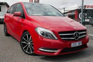 2012 Mercedes-Benz B200 W246 BlueEFFICIENCY DCT Red 7 Speed Sports Automatic Dual Clutch Hatchback Keysborough Greater Dandenong Preview