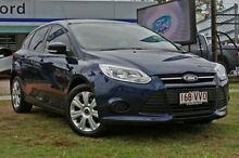 2011 Ford Focus LW Ambiente Midnight Sky 6 Speed Automatic Hatchback Capalaba West Brisbane South East Preview