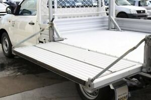 2013 Toyota Hilux KUN16R MY12 Workmate White 5 Speed Manual Cab Chassis