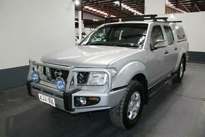 2006 Nissan Navara D40 ST-X (4x4) Silver 5 Speed Automatic Dual Cab Pick-up Pennington Charles Sturt Area Preview