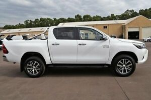 2016 Toyota Hilux GUN126R SR5 Double Cab White 6 Speed Manual Utility McGraths Hill Hawkesbury Area Preview
