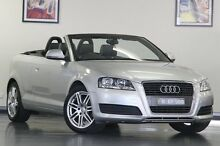 2011 Audi A3 8P MY11 Silver 7 Speed Sports Automatic Dual Clutch Convertible North Willoughby Willoughby Area Preview