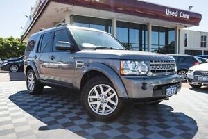 2010 Land Rover Discovery 4 Series 4 10MY TdV6 CommandShift Grey 6 Speed Sports Automatic Wagon Alfred Cove Melville Area Preview