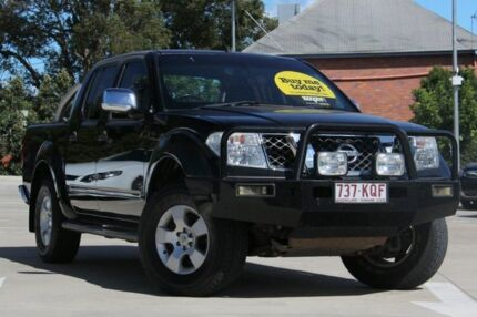 2007 Nissan Navara D40 ST-X Black 6 Speed Manual Utility South Toowoomba Toowoomba City Preview