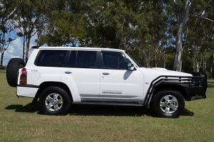2013 Nissan Patrol Y61 GU 9 ST White 4 Speed Automatic Wagon Bundaberg West Bundaberg City Preview