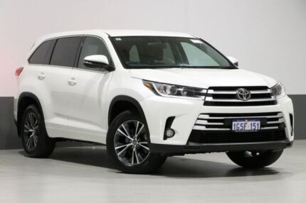 2017 Toyota Kluger GSU55R GX (4x4) Crystal Pearl 6 Speed Automatic Wagon Bentley Canning Area Preview