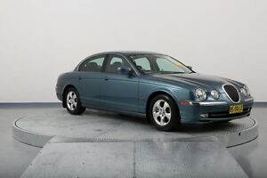 2000 Jaguar S-Type X200 MY2001 SE Blue 5 Speed Automatic Sedan Old Guildford Fairfield Area Preview
