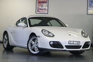 2010 Porsche Cayman 987 MY11 PDK White 7 Speed Sports Automatic Dual Clutch Coupe North Willoughby Willoughby Area Preview