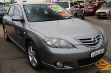 2004 Mazda 3 BK SP23 Silver 5 Speed Manual Hatchback Minchinbury Blacktown Area Preview