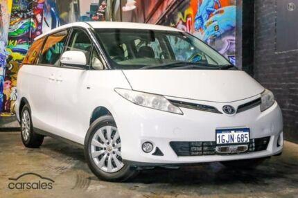 2012 Toyota Tarago ACR50R MY09 GLi White 4 Speed Sports Automatic Wagon