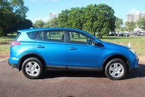 2016 Toyota RAV4 ASA44R GX AWD Blue Gem 6 Speed Automatic Wagon The Gardens Darwin City Preview