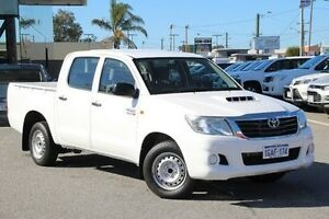 2012 Toyota Hilux White Manual Utility Welshpool Canning Area Preview