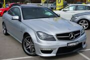 2012 Mercedes-Benz C63 C204 MY12 AMG SPEEDSHIFT MCT Silver 7 Speed Sports Automatic Coupe Pearce Woden Valley Preview