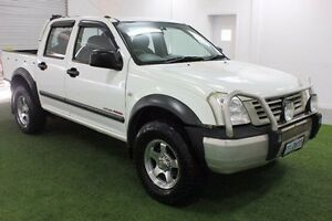 2005 Holden Rodeo RA MY05 LT Crew Cab White 5 Speed Manual Utility Moonah Glenorchy Area Preview