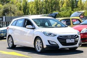 2015 Hyundai i30 GD Active Tourer White 6 Speed Sports Automatic Wagon Ringwood East Maroondah Area Preview