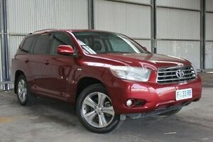 2007 Toyota Kluger GSU45R KX-S AWD Red 5 Speed Sports Automatic Wagon Invermay Launceston Area Preview