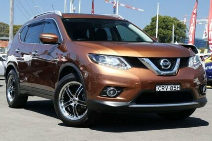 2014 Nissan X-Trail T32 Ti X-tronic 4WD Desert Dusk 7 Speed Constant Variable Wagon Gymea Sutherland Area Preview