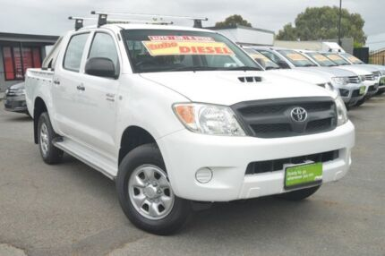 2007 Toyota Hilux KUN26R MY07 SR White 4 Speed Automatic Utility Hillcrest Port Adelaide Area Preview