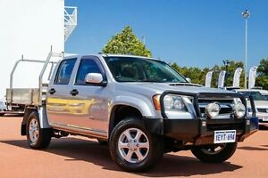 2011 Holden Colorado RC MY11 LX Crew Cab Silver 5 Speed Manual Cab Chassis East Rockingham Rockingham Area Preview