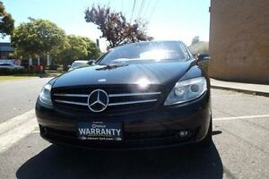 2007 Mercedes-Benz CL500 C216 07 Upgrade Black 7 Speed Automatic G-Tronic Coupe Melbourne CBD Melbourne City Preview