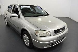 2001 Holden Astra TS City Silver 5 Speed Manual Hatchback Moorabbin Kingston Area Preview