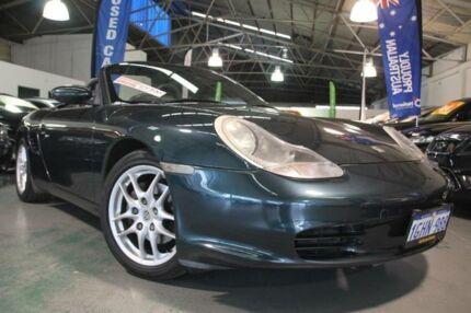 2003 Porsche Boxster 986 Dark Green 5 Speed Tiptronic Roadster