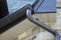 "6"" half round gutters in aluminum and copper!!!!"