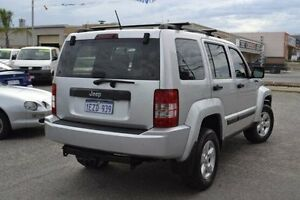 2010 Jeep Cherokee KK MY10 Sport Silver 4 Speed Automatic Wagon Wangara Wanneroo Area Preview