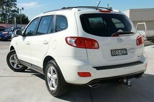 2008 Hyundai Santa Fe CM MY08 SLX White 5 Speed Sports Automatic Wagon Pennant Hills Hornsby Area Preview