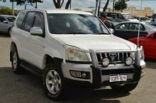 2006 Toyota Landcruiser Prado KZJ120R GXL White 4 Speed Automatic Wagon Pearsall Wanneroo Area Preview