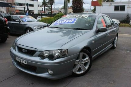 2004 Ford Falcon BA XR6 Turbo Silver Sports Automatic Sedan