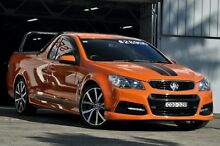 2013 Holden Ute VF SV6 Orange 6 Speed Automatic Utility Mosman Mosman Area Preview