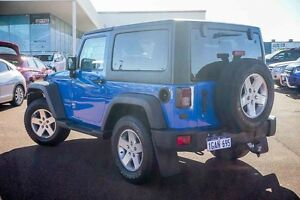 2011 Jeep Wrangler JK MY2010 Sport Blue 6 Speed Manual Softtop Wangara Wanneroo Area Preview