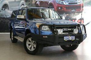2010 Ford Ranger PK XLT (4x4) Blue 5 Speed Automatic Dual Cab Pick-up Rockingham Rockingham Area Preview
