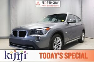 2012 BMW X1 AWD PREMIUM Navigation (GPS),  Leather,  Heated Se