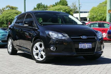 2012 Ford Focus LW Sport Black 5 Speed Manual Hatchback