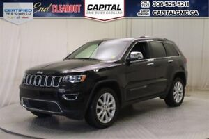 2017 Jeep Grand Cherokee Limited 4WD*Leather*Loaded*4X4*