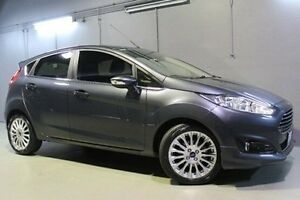 2014 Ford Fiesta WZ Sport Grey 5 Speed Manual Hatchback Invermay Launceston Area Preview