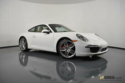 2012 Porsche 911 Carrera S 2012 Porsche 911 Carrera S 2dr Car Gas Flat 6 3.8L/232 Carrara White