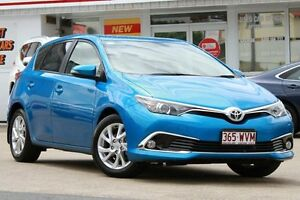 2015 Toyota Corolla ZRE182R Ascent Sport S-CVT Blue 7 Speed Constant Variable Hatchback Woolloongabba Brisbane South West Preview