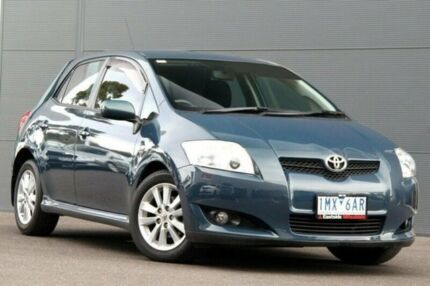 2007 Toyota Corolla ZRE152R Levin SX Blue 4 Speed Automatic Hatchback Nunawading Whitehorse Area Preview