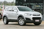 2013 Holden Captiva CG MY14 7 LS Silver 6 Speed Sports Automatic Wagon Moorooka Brisbane South West Preview