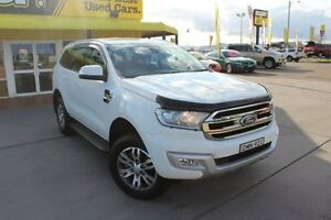 2016 Ford Everest UA Trend 4WD Cool White 6 Speed Sports Automatic Wagon Telarah Maitland Area Preview