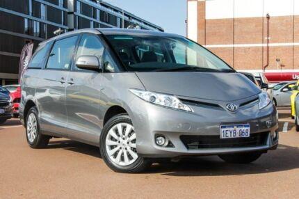 2016 Toyota Tarago ACR50R MY13 GLi Silver 7 Speed Constant Variable Wagon Fremantle Fremantle Area Preview