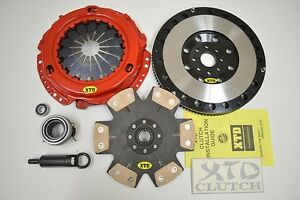 XTD STAGE 4 CLUTCH & X-LITE FLYWHEEL KIT SUPRA 3.0L SC300 I6 2JZGE NT W58