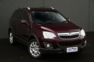 2013 Holden Captiva Maroon Sports Automatic Wagon Cranbourne Casey Area Preview