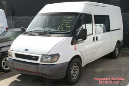 2003 Ford Transit VJ LONG White 6 Speed Manual Van