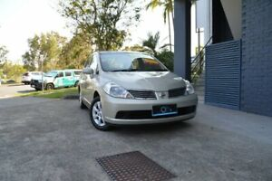 2006 Nissan Tiida C11 ST Gold 4 Speed Automatic Sedan Ashmore Gold Coast City Preview
