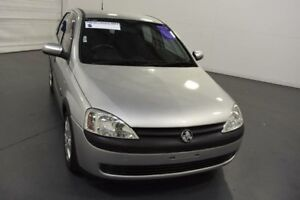 2003 Holden Barina XC CD Silver 4 Speed Automatic Hatchback